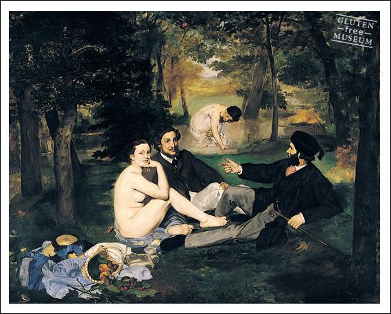 Manet était un précurseur, mais question pique-nique, n'aurait-il pas oublié quelque chose ?
