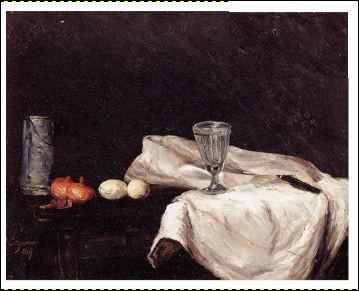 """N'a-t-on pas souvent entendu """"Cézanne, pain*"""" ? Il va donc être facile de retrouver l'original."""