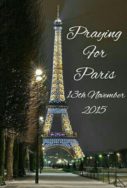 13 novembre 2015 : PRAY FOR PARIS