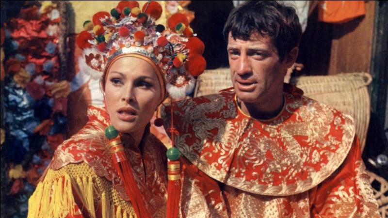 """Elle a joué le rôle d'Alexandrine dans """"Les Tribulations d'un Chinois en Chine"""" ; après leur rencontre sur le tournage, Jean-Paul Belmondo divorce et s'installe plusieurs années avec l'actrice. De qui s'agit-il ?"""