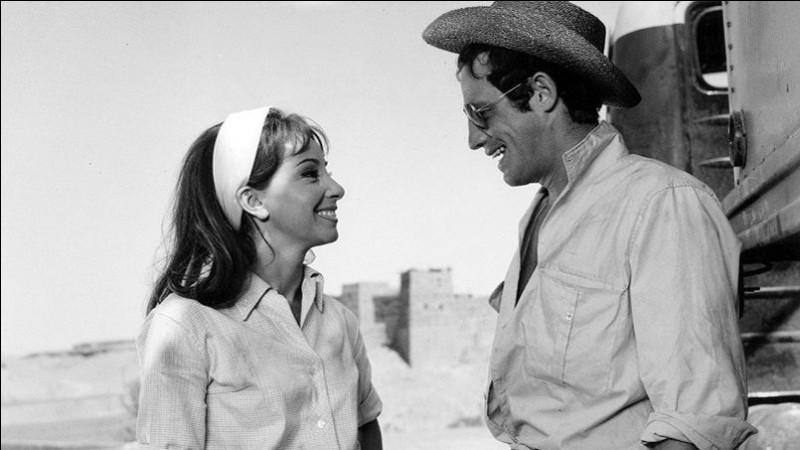 """Elle est Clo dans """"les Tricheurs"""" en 1958, l'un des premiers films de Belmondo, et Pepa dans """"Cent mille dollars au soleil"""" : c'est ..."""