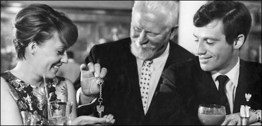 """Elle était Anne Desbaresdes en 1960 dans """"Moderato cantabile"""", puis Cathy, son ex-femme, dans """"Peau de Banane"""" : c'est ..."""