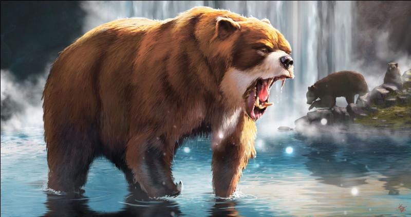Et comment s'appelle cet ours géant ?