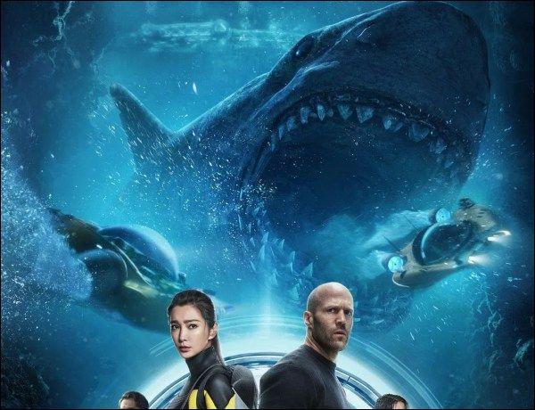 Dans quel film de cinéma voit-on un mégalodon attaquer des gens et des baleines ?