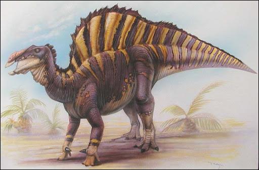 En 1965, le premier nouveau dinosaure qu'il découvrit fut un cousin africain de l'iguanodon. Il s'agit de :