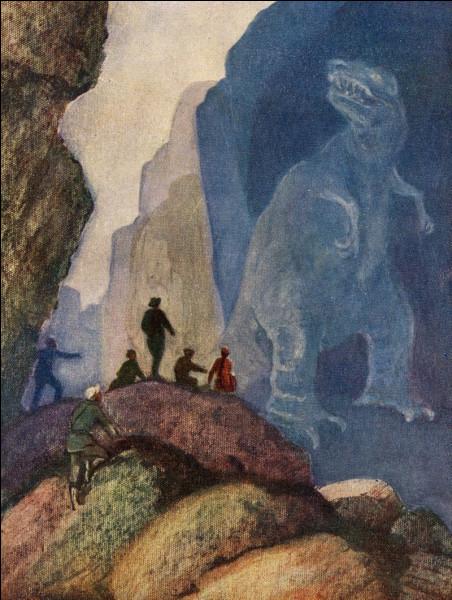 L'autre facette d'Efremov ce sont ses oeuvres littéraires. Dans l'une d'entre elles, il raconte l'histoire d'une expédition qui découvre :