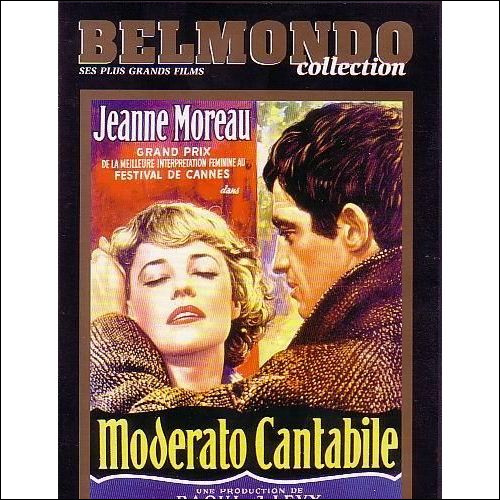"""À quel metteur en scène faut-il attribuer le film """"Moderato Cantabile"""" ?"""