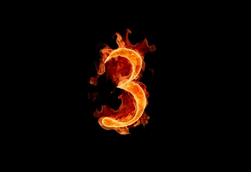 Comment s'écrit le chiffre 3 ?