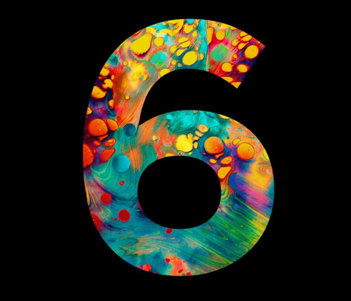Comment s'écrit le chiffre 6 ?