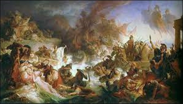29 septembre 480 av. J.-C : Voit la victoire navale des grecques à la bataille de Salamine. Contre quel peuple ?
