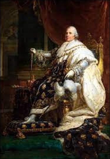 16 septembre 1824 : Quel roi de France décède à l'âge de 68 ans, après un peu plus de 9 ans au pouvoir ?