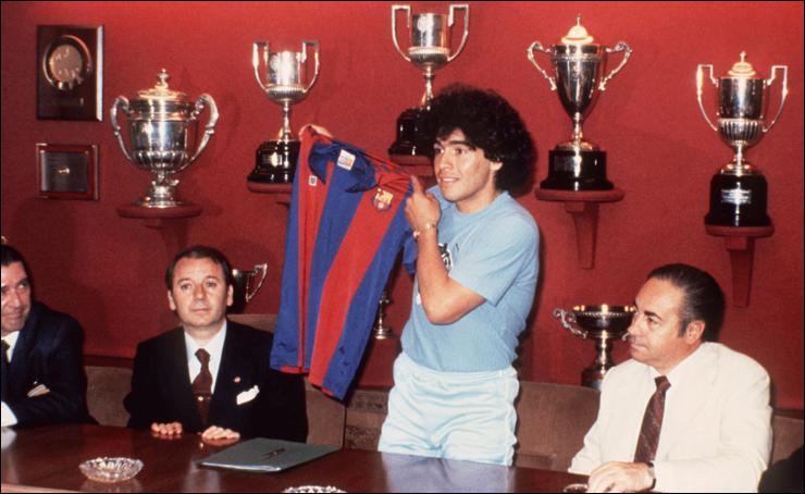 Combien a coûté le transfert de Maradona à Barcelone ?