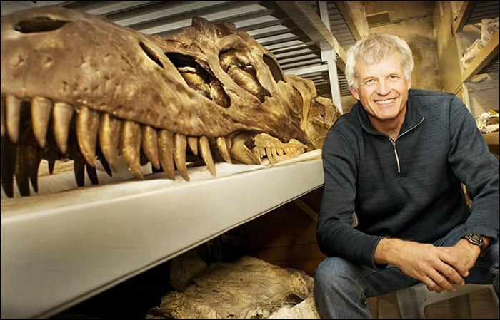 Philip Currie (1949- ) est aussi un paléontologue qui a révolutionné la vision des dinosaures. Selon lui :