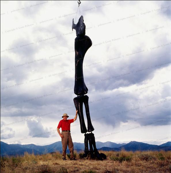 Inventif, son ancien métier a apporté une grande contribution à la paléontologie pour :
