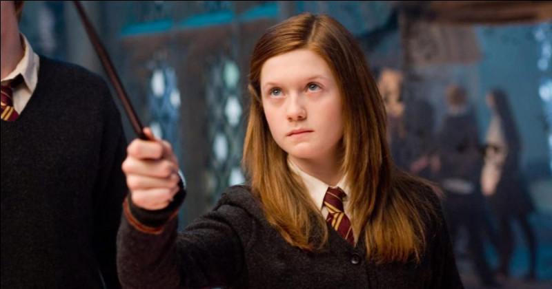Retrouve le Patronus de Ginny.