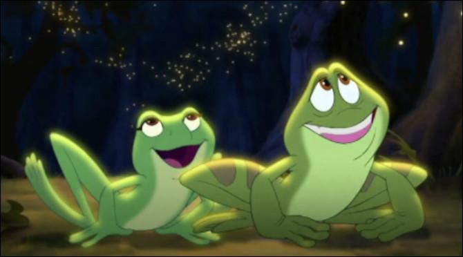 Et pour finir, à quel Disney appartiennent ces deux petites grenouilles ?