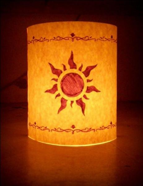 De quel Disney cette lanterne est-elle originaire ?