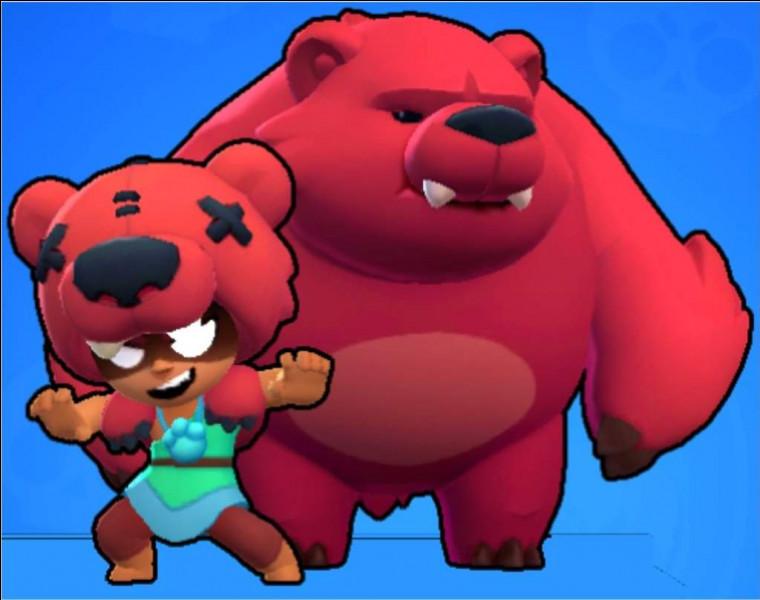 Comment s'appelle le Brawler avec l'ours ?