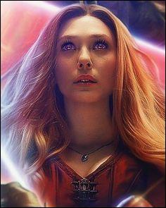 Et la Sorcière rouge ou Scarlet Witch, comment s'appelle-t-elle ?