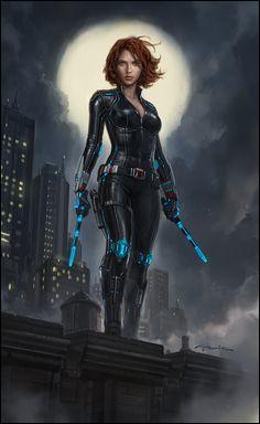 """Dans """"Captain America : Civil War"""", Black Widow a signé les accords de Sokovie avec qui ?"""