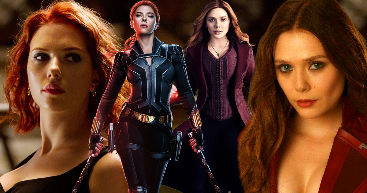 Black Widow et Scarlet Witch