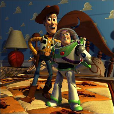 """Pourrais-tu finir cette réplique de Toy Story 3 ?"""" Sunnyside est dirigé par un diabolique ours en peluche rose parfumé... """""""