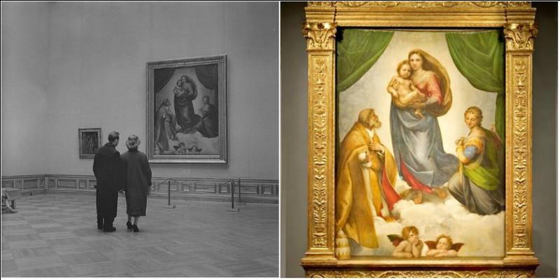 """Le titre du tableau de Raphaël """"La Madone Sixtine"""" a un lien avec la Chapelle Sixtine, au Vatican."""