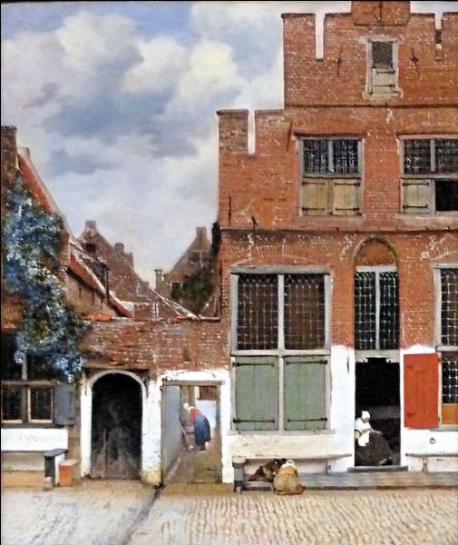 """Hormis la célèbre """"Vue de Delft"""", Johannes Vermeer n'a réalisé qu'une seule peinture d'extérieur.Quel est le titre de ce tableau ?"""