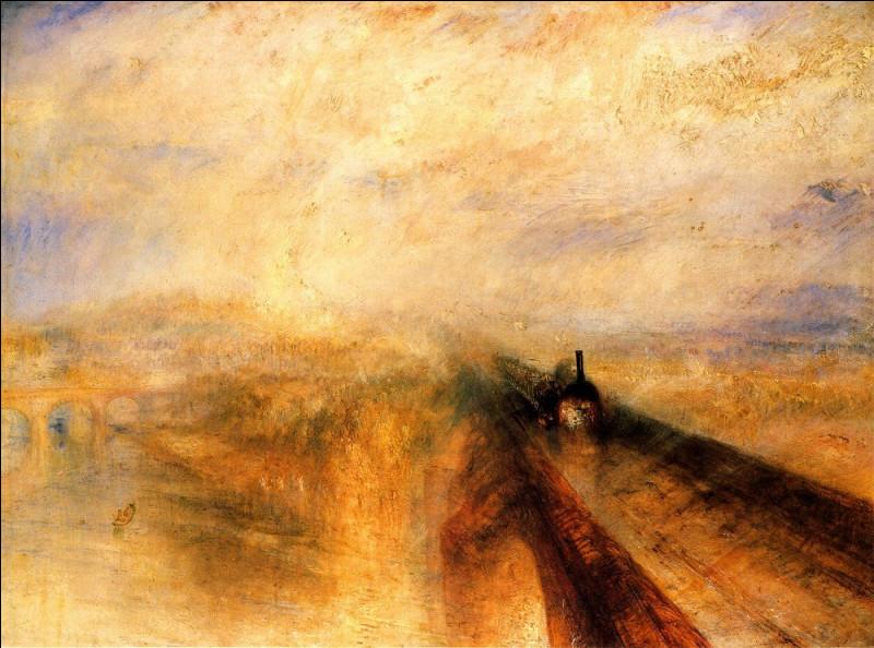 Quel est le titre de cette toile de Joseph Turner ?