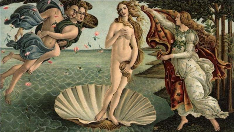 """Quel est le prénom du modèle de Sandro Botticelli pour son tableau """"La Naissance de Vénus"""" ?"""