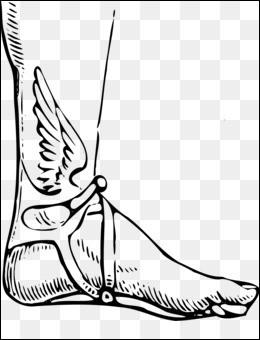 Qui est le célèbre fils d'Hermès, né grâce à une sandale volée ?