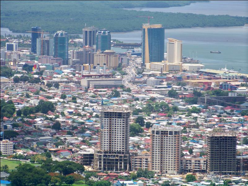 Un peu de géo pour finir, je sais que vous aimez ça.Quelle est la capitale de Trinité-et-Tobago, État situé dans la mer des Caraïbes, au large du Venezuela ?
