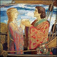 En 1943 le mythe de Tristan et Iseult, les amants légendaires, a fait l'objet d'un film de Jean Delannoy, d'après un scénario de Jean Cocteau, et avec Jean Marais dans le rôle principal. Quel en était le titre ?