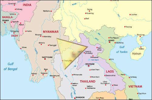 Le Triangle d'or est une région montagneuse d'Asie. Depuis 1920 c'est un des plus importants lieux de production mondiale...