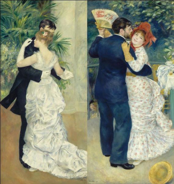 Parmi ces deux couples, lequel danse en ville ?