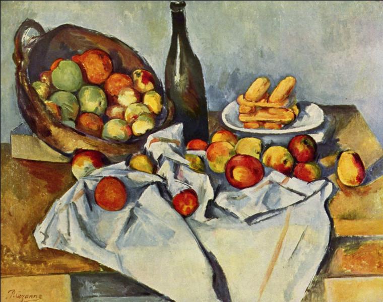 Quels fruits ont été représentés en grande quantité dans cette œuvre ?