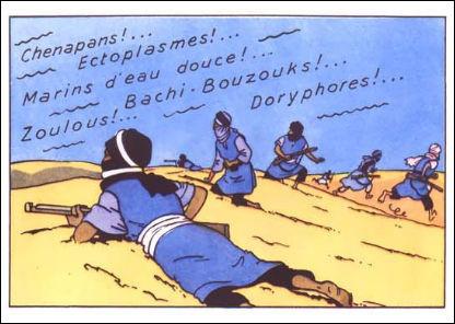 """Aux dires même d'Hergé, cette case constitue """"l'une de ses préférées et des meilleures"""" de toute sa production : pourquoi ?"""
