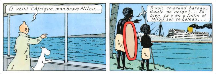 Petite question pour les géographes > Lorsqu'il va au Congo, Tintin débarque dans quel port d'Afrique ?