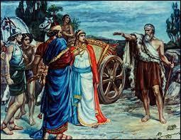 Qui est l'épouse du roi Achab ?