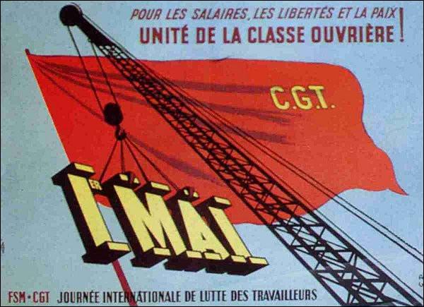 En quelle année la CGT fut-elle créée ?