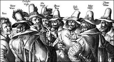 En quelle année eu lieu la conspiration des Poudres ?