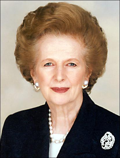 Quelle période correspond à la gouvernance de Margaret Thatcher ?