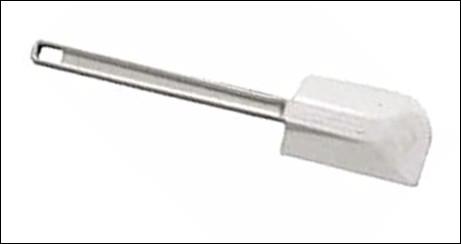 Est-ce que le nom de cet ustensile est une martine, une spatule en silicone utilisée pour racler le fond des récipients ?