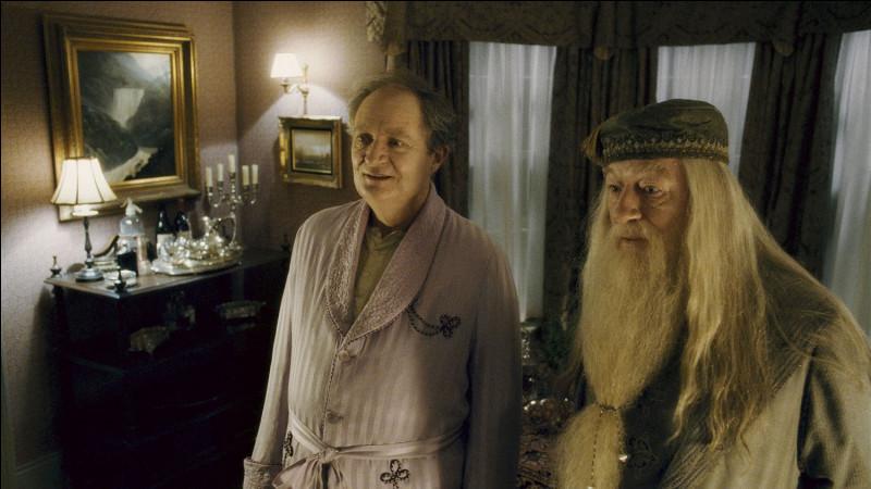 Pourquoi Harry et Dumbledore vont-ils chez Slughorn ?