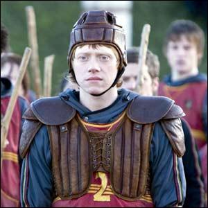 Quel poste Ron veut-il obtenir dans l'équipe de Gryffondor ?