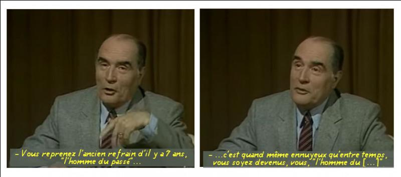 Il n'y a pas que les auteurs de quiz qui sachent faire des jeux de mots : la preuve... (Retrouvez le fameux mot de Mitterrand, en 1981)