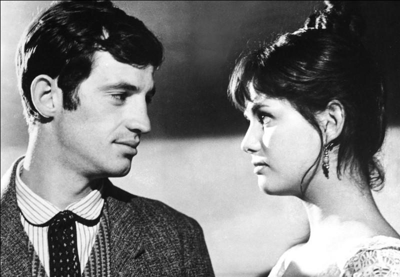 """Qui accompagne Belmondo dans le film """"La Viaccia"""" ?"""