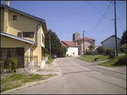 Village de l'aire d'attraction Nancéenne, Saffais ne se situe pas ...
