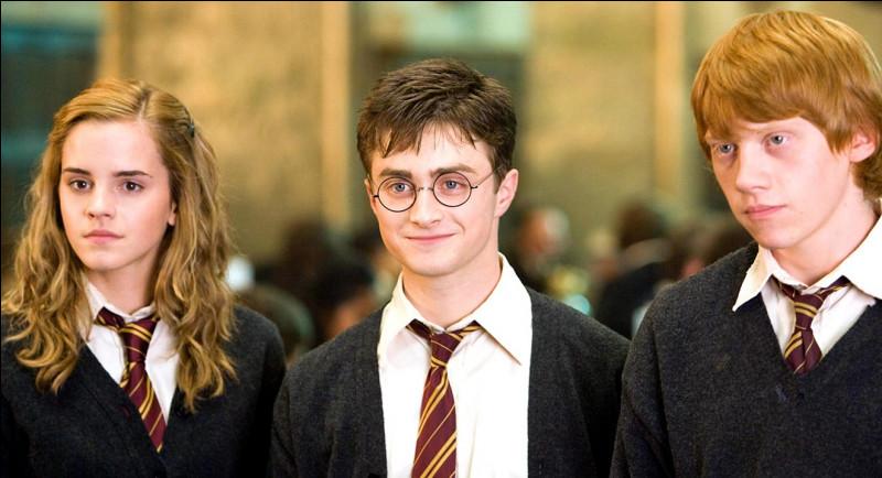 Comment s'appelle l'école de sorcellerie où va Harry ?