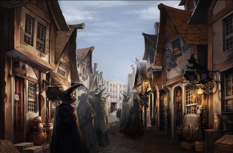 Où Harry Potter achète-t-il ses fournitures scolaires ?